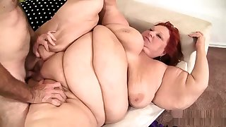 Fat bbw granny pussy fucked and cant get too bad