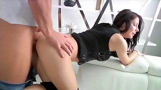 Youthfull Killer Two Makes Oral Enjoy At The Kitchen