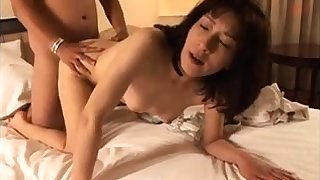 Brunette love hardcore doggystyle sexing