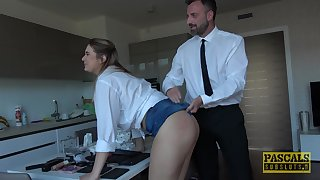 Mart busty whore Nikky Appetite masturbates and gets ass fucked